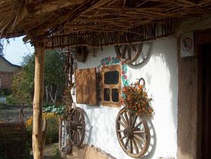 Traditional ukrainian village