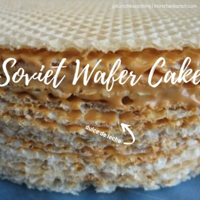soviet wafer cake